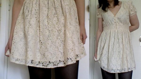 Modelos de vestido de renda 38