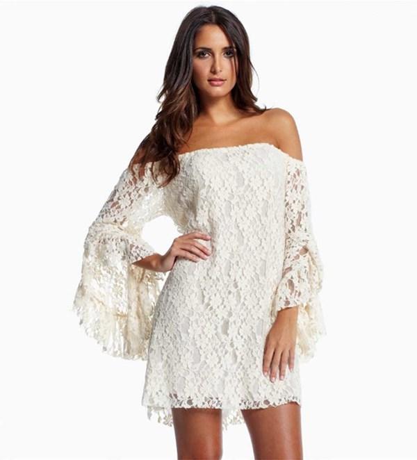 Modelos de vestido de renda 25