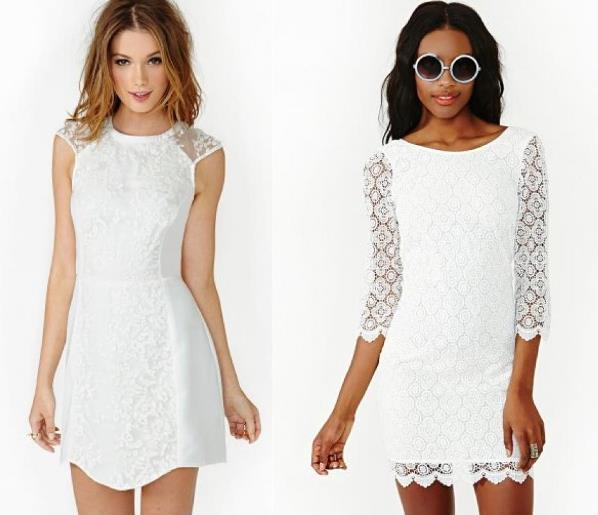 Modelos de vestido de renda 41