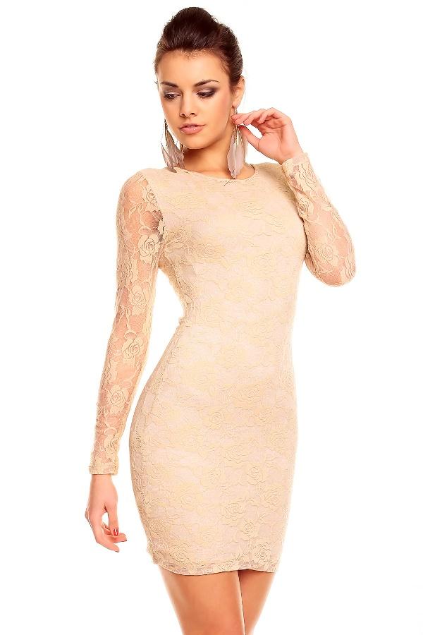 Modelos de vestido de renda 5