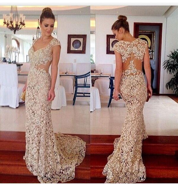 Modelos de vestido de renda 52