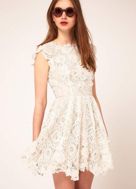 Modelos de vestido de renda 58