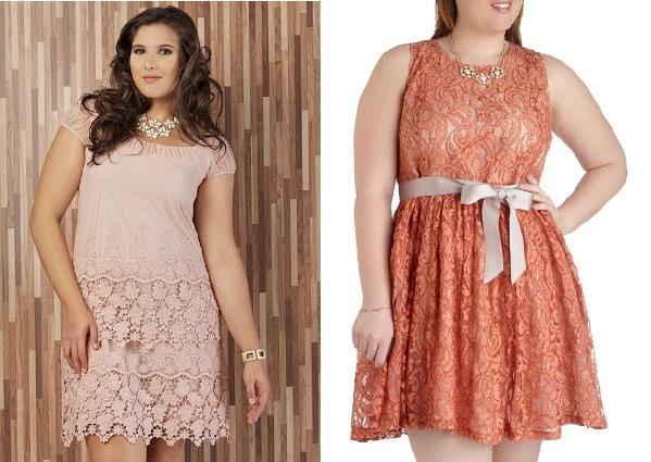 Modelos de vestido de renda 6