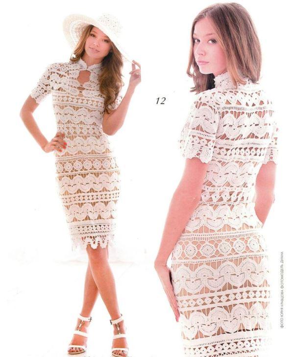 Modelos de vestido de renda 71