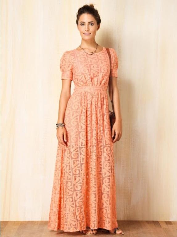 Modelos de vestido de renda 72