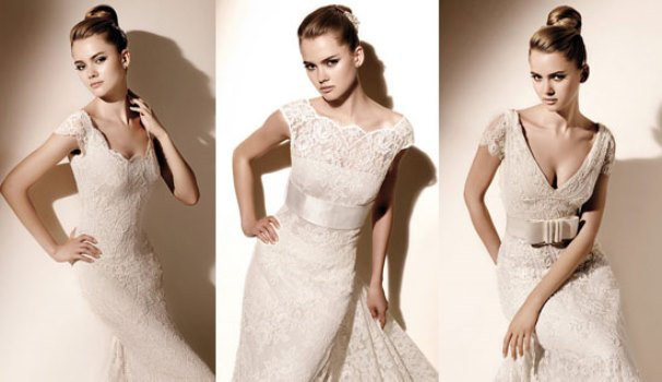 Modelos de vestido de renda 74