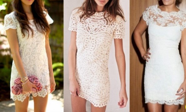 Modelos de vestido de renda 27