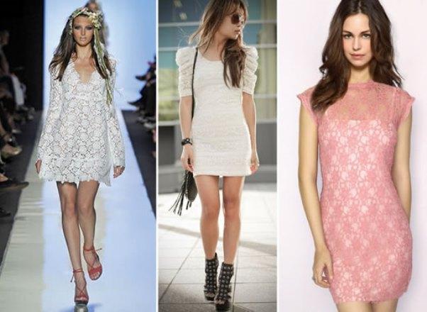 Modelos de vestido de renda 77