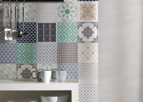 Azulejos com estampas para decorar sua casa fotos for Azulejos para decorar
