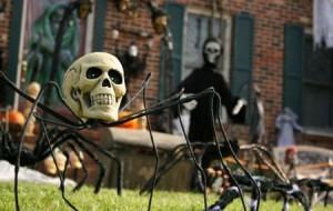 Decoração para festa de Halloween