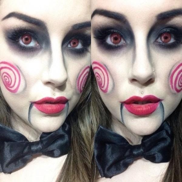 Maquiagem Halloween de 2016