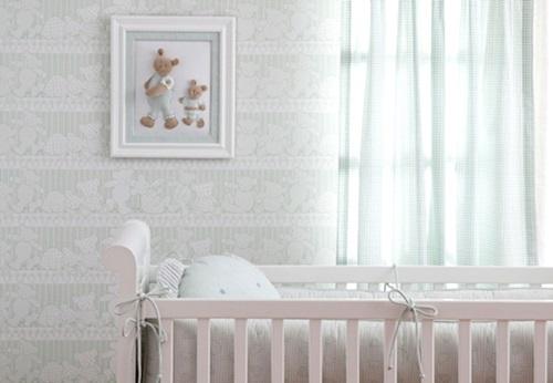 Papel de parede para quarto de bebê  MundodasTribos  Todas as tribos em um