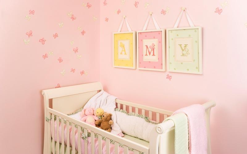 Papel de parede para quarto de bebê 14s 150x150 Papel de parede para ...