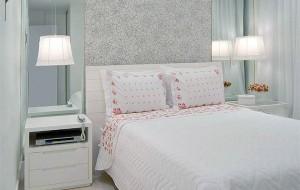 Decoração para quartos com papel parede