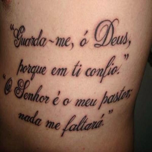 20 Frases Para Tatuagem