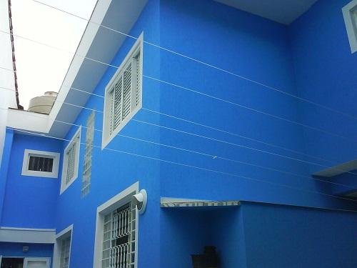 Cores de tintas para paredes externas internas dicas - Simulador pintura casa ...