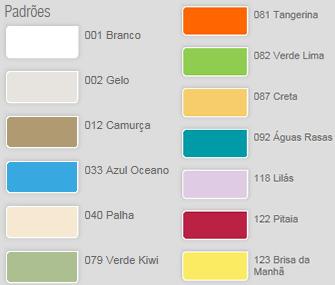 Tintas suvinil cores mais usadas
