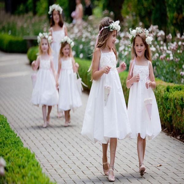 Vestido De Damas De Honra Criança