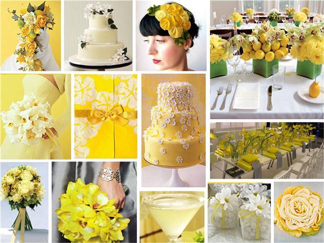 decoracao branco amarelo : decoracao branco amarelo:Decoração de casamento amarelo e branco – O amarelo e o branco são