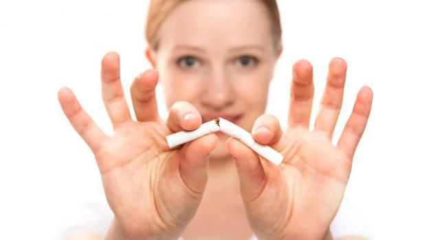 Quando lá passa a dependência da fumagem