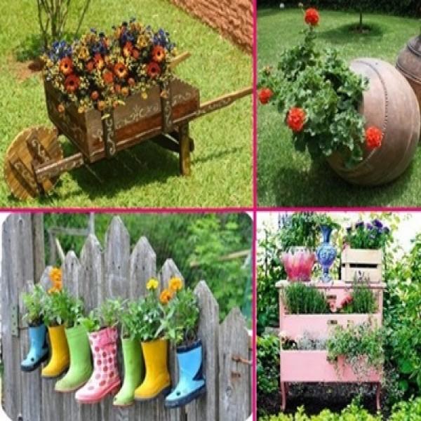 Decora??o para jardins 2015 novas tend?ncias ...