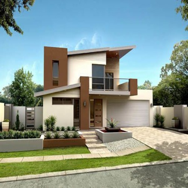 Fachadas de casas para 2015 for Cores modernas para fachadas de casas 2016
