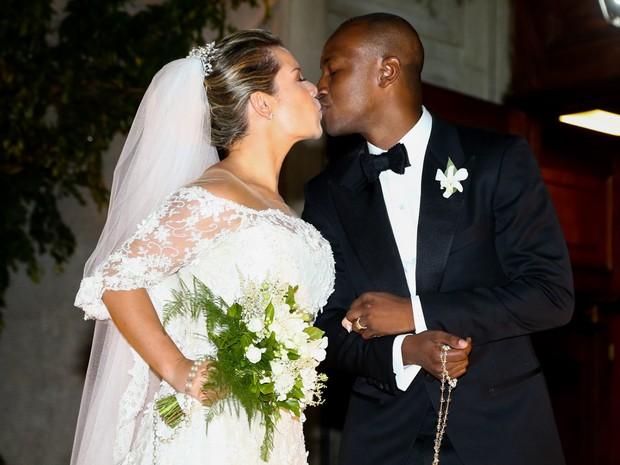 decoracao casamento fernanda souza e thiaguinho:Casamento de Thiaguinho e Fernanda Souza (Foto: Divulgação)