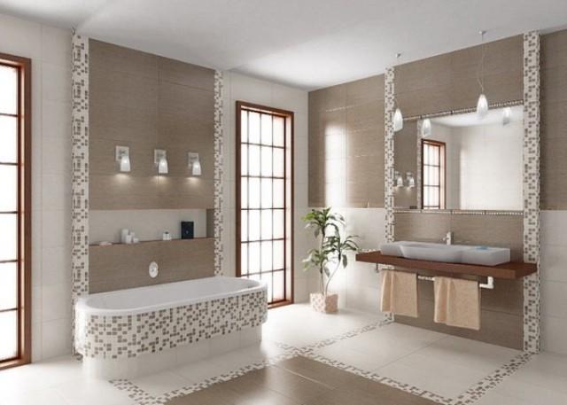 15 Banheiros decorados com pastilhas  MundodasTribos – Todas as tribos em um -> Banheiros Modernos Pastilhados