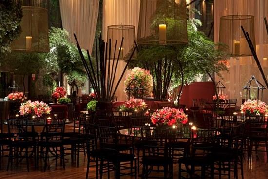 decoracao casamento de luxo