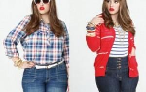 Moda plus size para crianças 2015