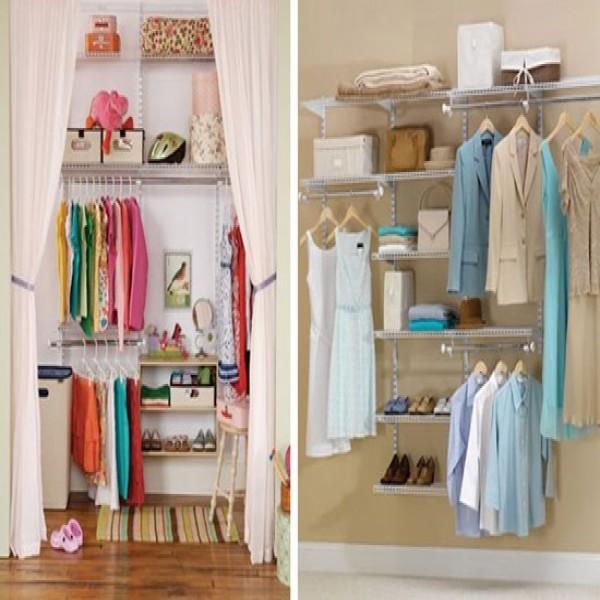 Dicas para fazer seu closet pequeno e barato for Armarios pequenos baratos
