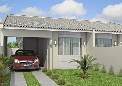 Dicas de garagem bem projetada e segura for Jardines para frentes de casas pequenas