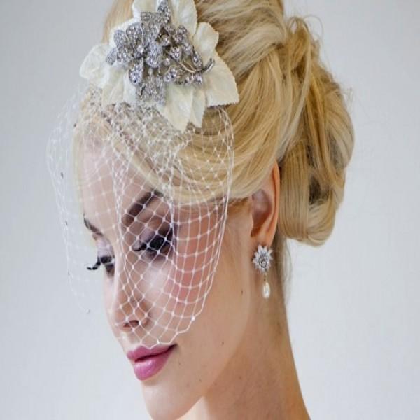 Penteados para noivas com véu 2017