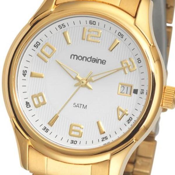 cc906bd6bb9 Onde comprar relógio dourado feminino barato