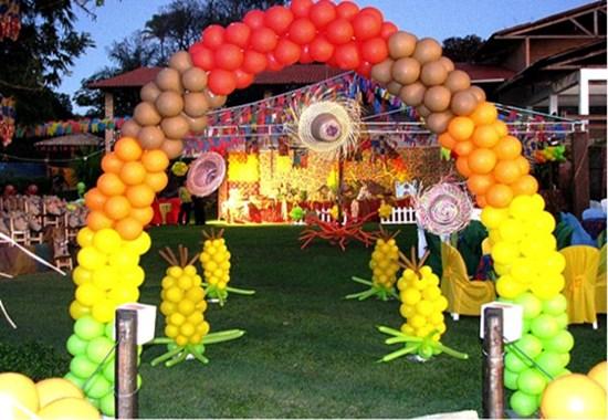Festa Junina Na Escola 2015  A decoração da festa junina na escola