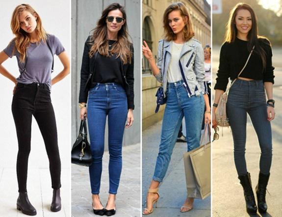 Calças Hot Pants saiba como usar de cintura alta - Você conhece essa ...