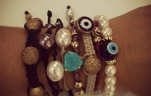 Pulseiras no look do dia-a-dia