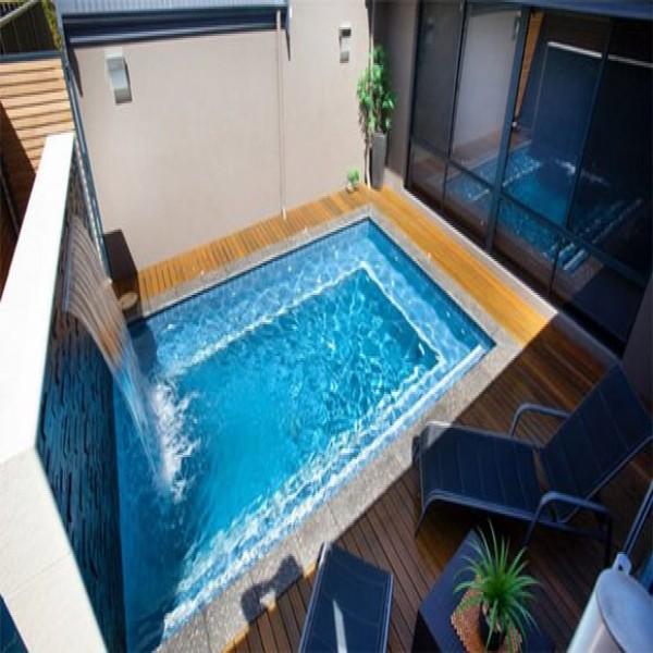 10 modelos de piscinas para casas pequenas - Tipos de piscinas para casas ...