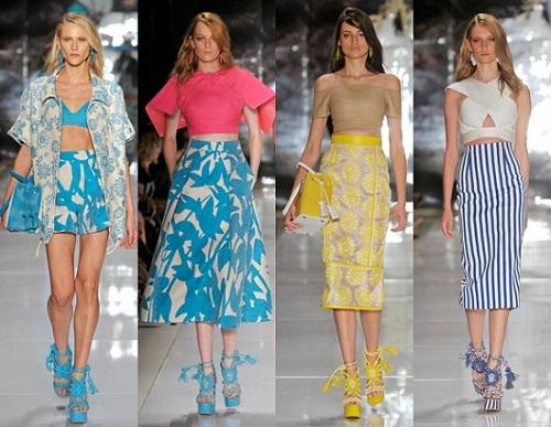 cd65dfa2e Tendências da moda primavera e do verão (Foto  Divulgação). Estampas ...
