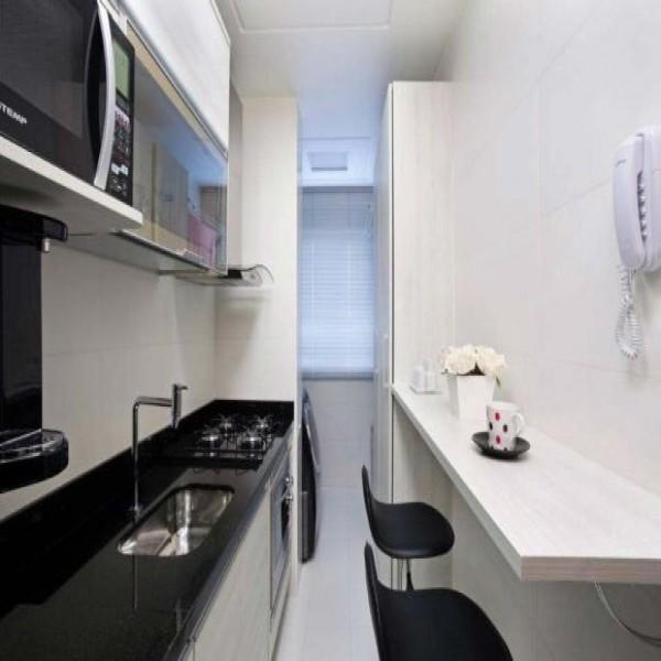 Modelos de cozinhas pequenas planejadas for Modelos de apartamentos