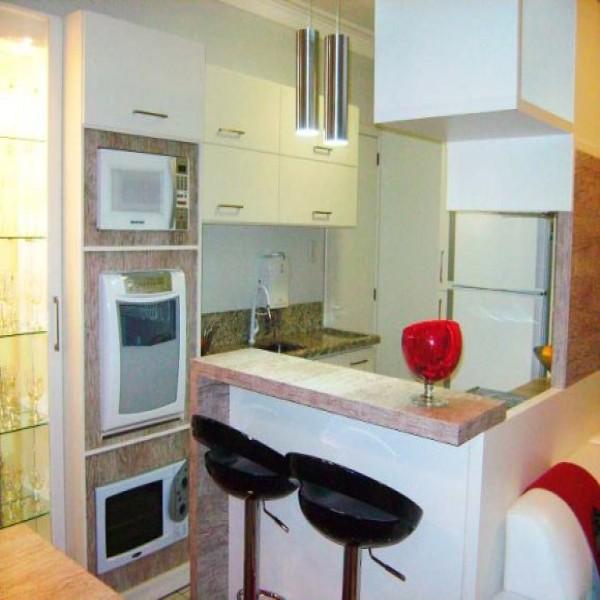 Modelos de cozinhas pequenas planejadas for Modelos de mini apartamentos