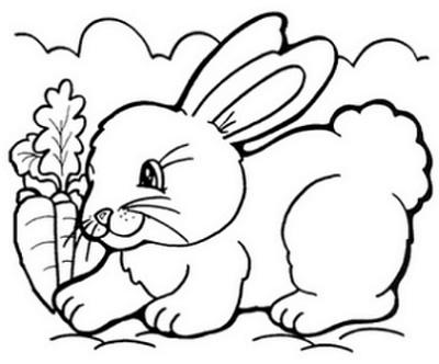 Simbolos Da Pascoa Para Colorir Figuras E Coelhinhos