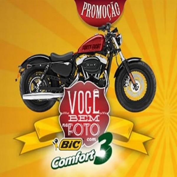 Promoção Bic 2015: Você bem na foto com Bic Comfort 3