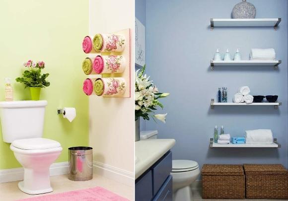 Como organizar seu banheiro gastando pouco  MundodasTribos – Todas as tribos -> Banheiro Pequeno Ideias Criativas