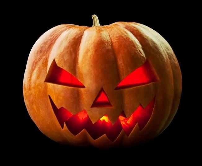 Resultado de imagem para aboboras e velas halloween