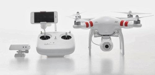 Aparelho transforma celular em drone