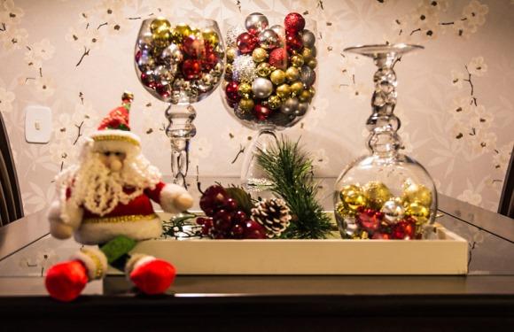 10 decora es r pidas e baratas para o natal 2015 - Bolas transparentes para decorar ...