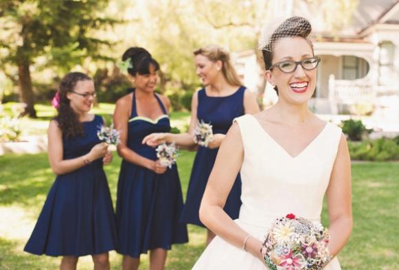 Looks para noivas com óculos