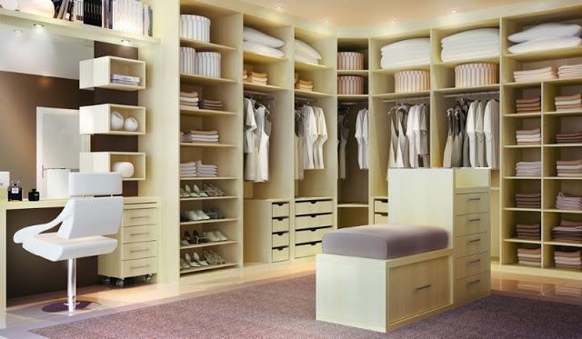 Como Construir Um Closet No Quarto MundodasTribos  ~ Quarto Planejado Com Closet