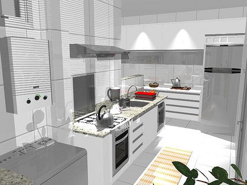Para cozinhas planejadas o fogão de embutir é a melhor opção